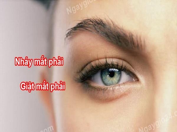 Điềm báo nháy mắt phải tốt hay xấu?